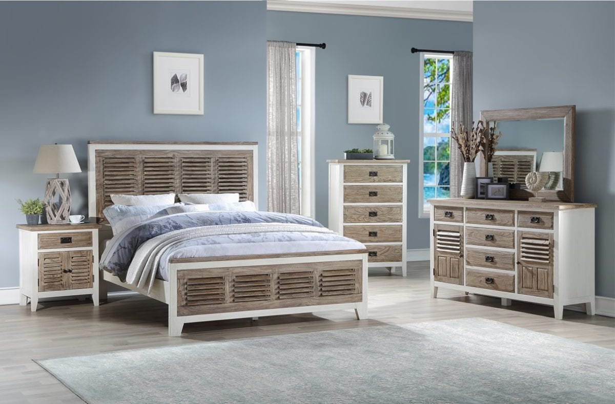 Rustic Coastal Bedroom At Ambrose Furniture