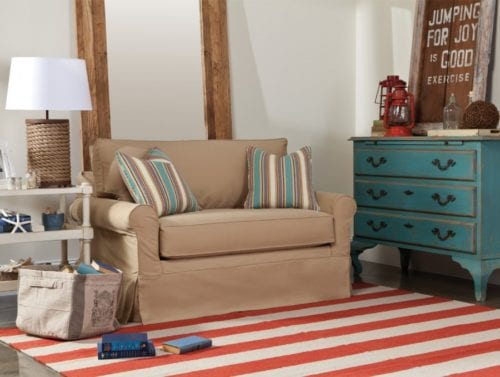 Nautical Living Room from Rowe at Ambrose Furniture